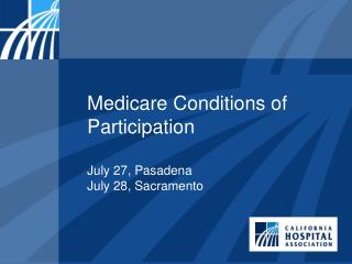 Medicare Conditions of Participation