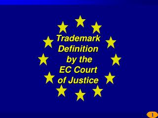 Trademark  Definition  by the  EC Court  of Justice