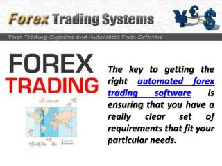 Automated Forex Trading Software