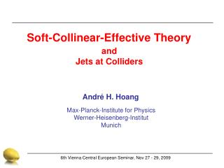Soft-Collinear-Effective Theory