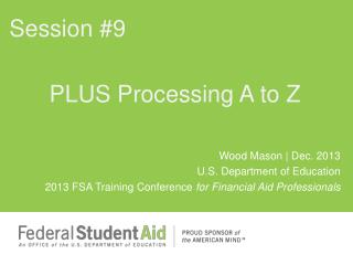 PLUS Processing A to Z