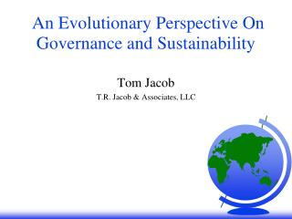 An Evolutionary Perspective On Governance and Sustainability