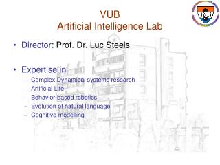 VUB  Artificial Intelligence Lab