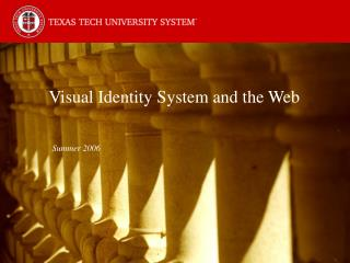 Visual Identity System and the Web