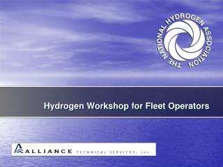 Hydrogen Workshop for Fleet Operators
