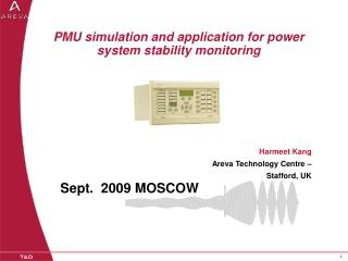 PMU simulation and application for power system stability monitoring