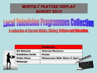 Local Television Programmes Collection
