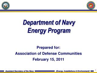 Department of Navy Energy Program