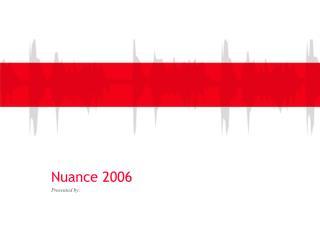 Nuance 2006
