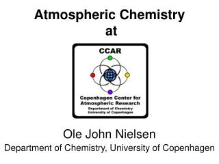 Atmospheric Chemistry  at
