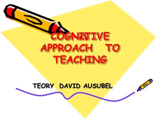 COGNITIVE  APPROACH   TO TEACHING