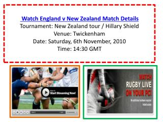 Watch England v New Zealand Rugby match of New Zealand tour
