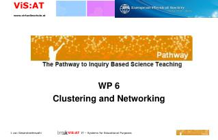 WP 6 Clustering and Networking