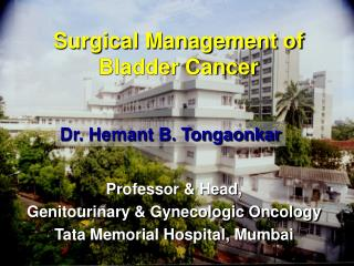 Surgical Management of Bladder Cancer