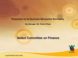 Select Committee on Finance