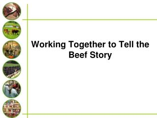 Working Together to Tell the Beef Story