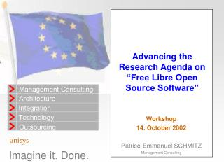 "Advancing the Research Agenda on ""Free Libre Open Source Software"""