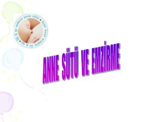 ANNE  SÜTÜ  VE  EMZİRME