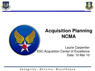 Acquisition Planning NCMA