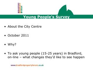 Young People's Survey