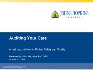Auditing Your Care
