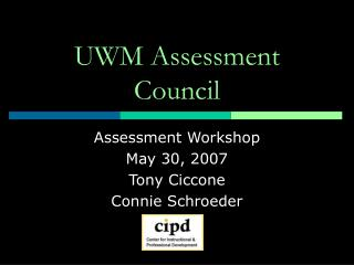 UWM Assessment Council