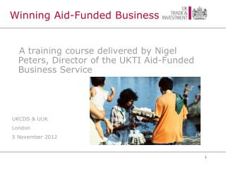 Winning Aid-Funded Business