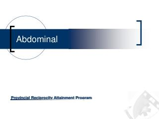 Abdominal