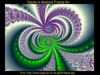 Dipole in Abstract Fractal Art