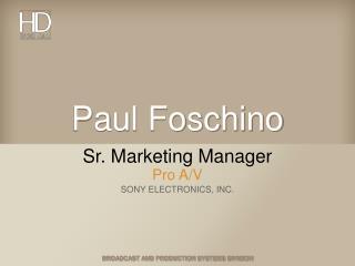 Paul Foschino