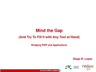 Mind the Gap (And Try To Fill It with Any Tool at Hand) Bridging PAPI and A pplications