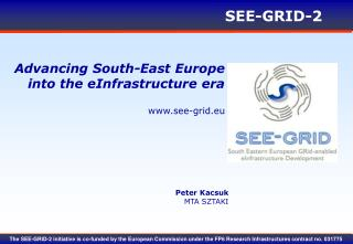 Advancing South-East Europe  into the eInfrastructure era