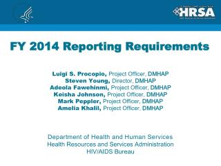 FY 2014 Reporting Requirements