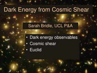 Dark Energy from Cosmic Shear