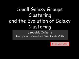 Small Galaxy Groups Clustering and the Evolution of Galaxy Clustering