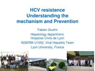 HCV resistance Understanding the mechanism and Prevention