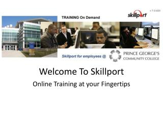 Welcome To Skillport