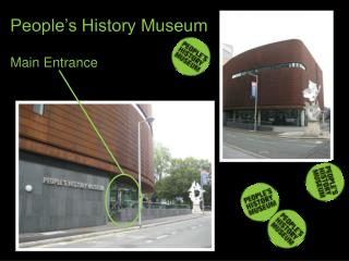 People's History Museum  Main Entrance