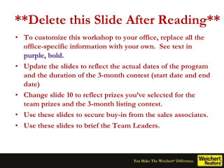 **Delete this Slide After Reading**
