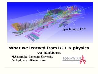 What we learned from DC1 B-physics validations