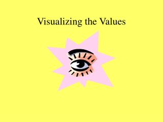 Visualizing the Values