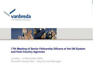 17th Meeting of Senior Fellowship Officers of the UN System and Host Country Agencies