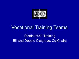 Vocational Training Teams