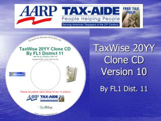 TaxWise 20YY Clone CD Version 10