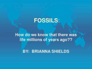 FOSSILS: