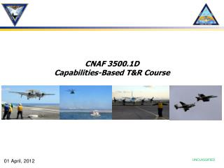 CNAF 3500.1D Capabilities-Based T&R Course