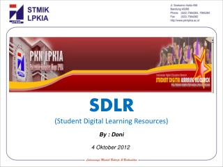 SDLR (Student Digital Learning Resources)