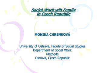 Social Work wih Family in Czech Republic