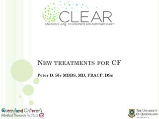New treatments for CF
