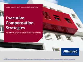 Executive Compensation Strategies